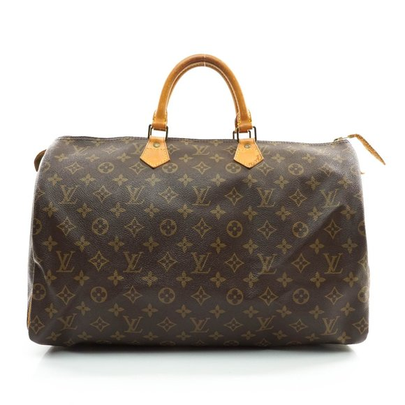 Auth Louis Vuitton Speedy 40 Hand Bag #8019L35